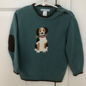 Jamie AND Jack Boys 3T 🐶 Dog With a bone Sweater